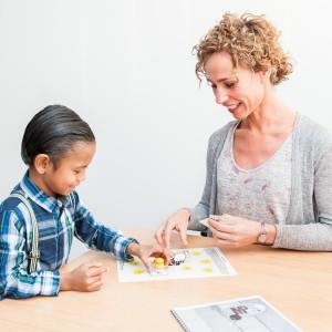 Spraak spelenderwijs oefenen om de spraakontwikkeling te stimuleren