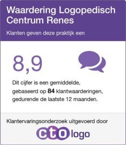 Waarderingscijfer voor Logopedisch Centrum Renes